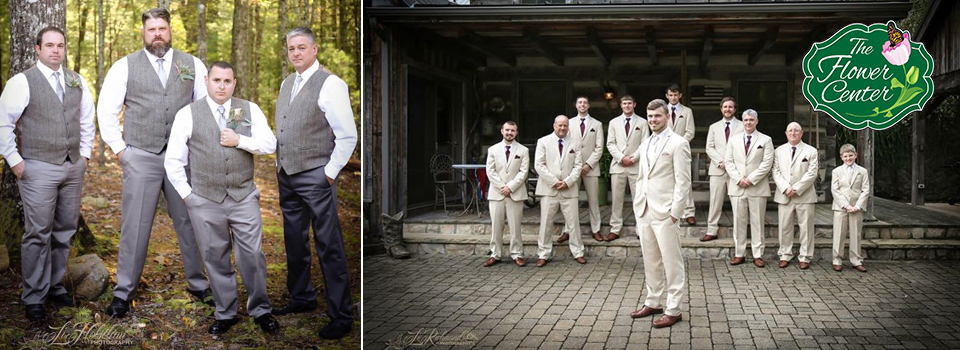 Wedding and Event Tuxedos Rental at the Flower Center