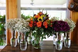 The Flower Center flowers table