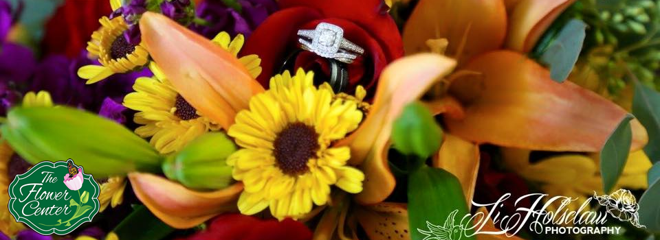 The Flower Center in Clifton Forge Va Engagement Flowers