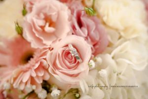 The Flower Center in Clifton Forge Va wedding bouquet