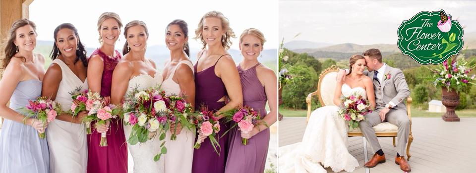 Custom Wedding Bouquets and Arrangements