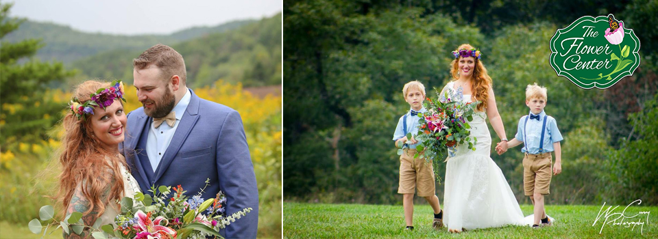 EDIT The Flower Center is the premiere wedding and event planning in Clifton Forge Virginia